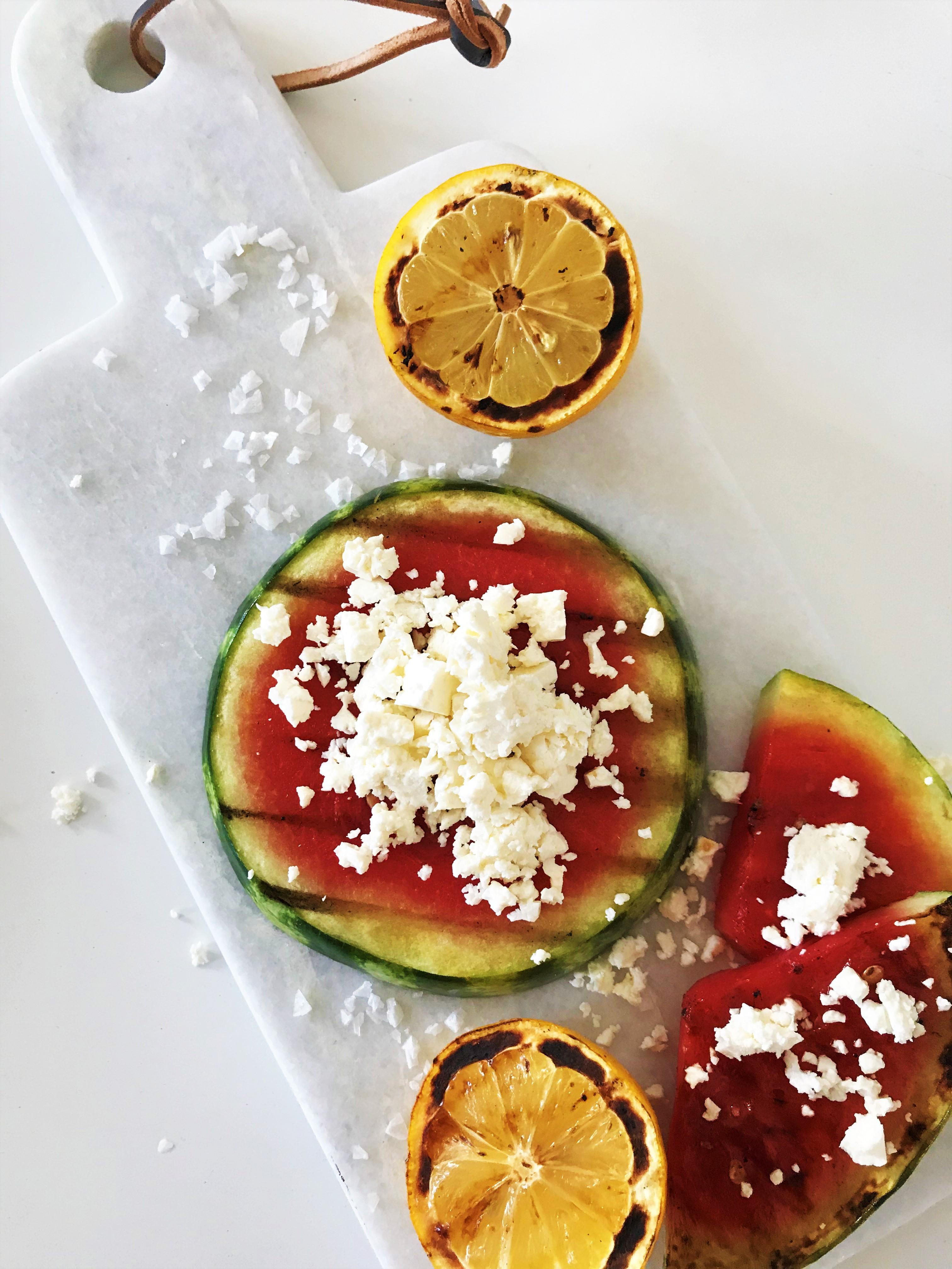 grillad vattenmelon matmedsofie
