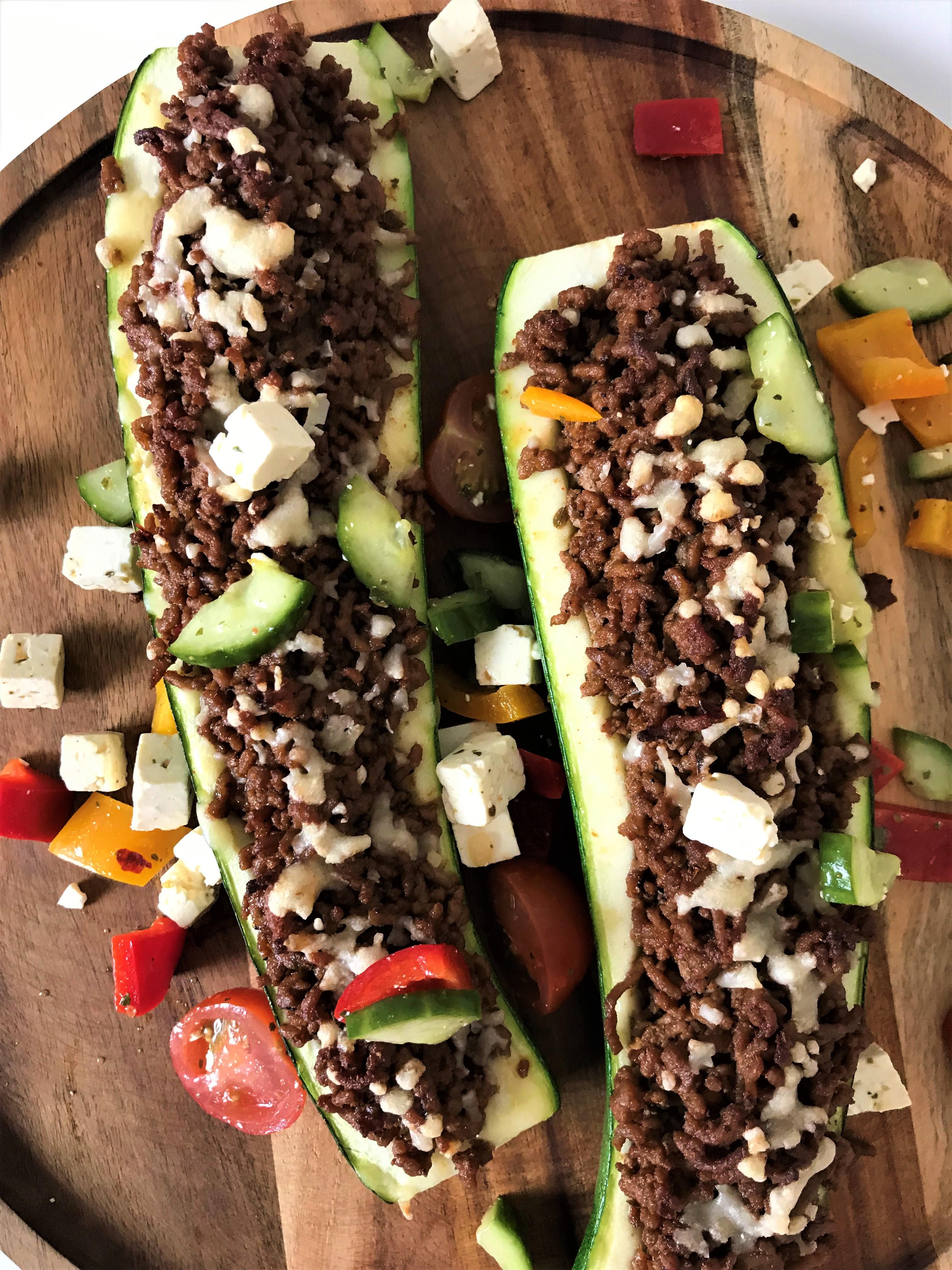 tacofärsfylld zucchini matmedsofie